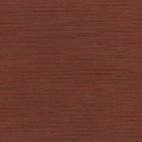 Lena - Picante - Fabric made from a very subtly streaky warm red and brown coloured blend of silk and polyester