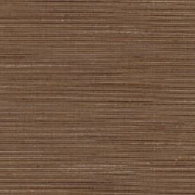 Lena - Brown Sugar - Fabric made from brown silk and polyester behind a subtle horizontal streaked design in ligher & darker shades of brown