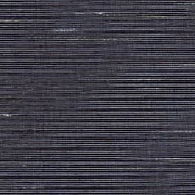 Lena - Caviar - Patchy white and black lines creating a horizontal streak design on silk and polyester blend fabric in very dark grey