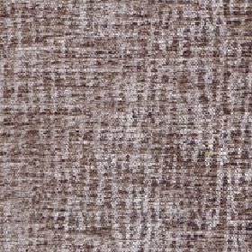 Lexi - Feather Grey - 100% polyester fabric made in darkbrown and light grey colours with a random, patchy effect