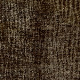 Lexi - Olive Branch - Fabric made from 100% polyester in two similar dark shades of green-grey with a pattern of random, uneven vertical lin