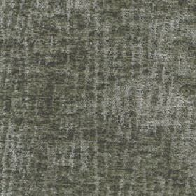 Lexi - Green Bay - Fabric made from 100% polyester with a pattern of random, uneven vertical lines in two very similar shades of dark grey