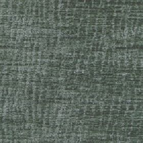 Lexi - Seaspray - Two simliar blue-grey shades making up a patchy, random, uneven vertical line design on fabric made from 100% polyester
