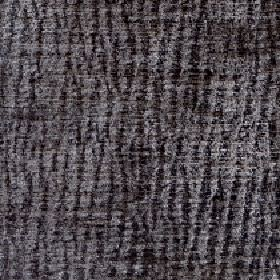 Lexi - Moonmist - 100% polyester fabric made in two different dark shades of grey with a random, uneven vertical line design