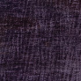 Lexi - Purple Sage - Dark shades of grey and purple making up a pattern of lines running randomly down fabric made from 100% polyester