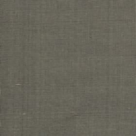 Java - Silver Sage - Dull mid-grey coloured fabric made entirely from unpatterned silk