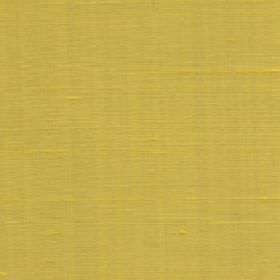 Java - Sunshine - Plain fabric made from 100% silk in a bright citrus green colour