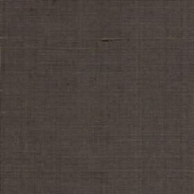 Java - Walnut - A flat shade of dark grey covering plain 100% silk fabric