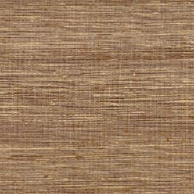 Pacific - Sesame - 100% silk fabric finished with a streaky, patchy finish in warm cream and light brown colours