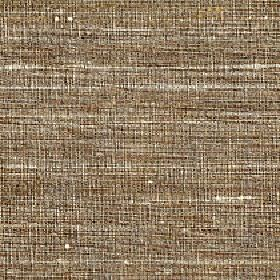 Pacific - Cement - Fabric made from streaky, patchy 100% silk using threads in light shades of cream, brown and grey