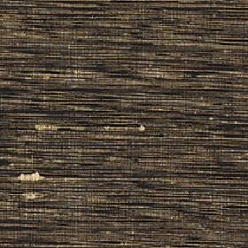 Pacific - Aztec - Horizontal cream, brown and black streaks running across fabric made with a 100% silk content