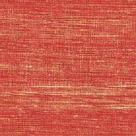 Pacific - Apricot - Coral and pale orange coloured threads woven together into a streaky 100% silk fabric
