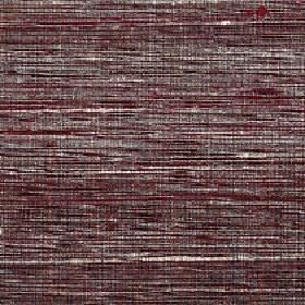 Pacific - Montana - 100% silk fabric woven from streaky threads in a horizontal pattern featuring mulberry, dark grey and white colours
