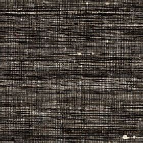 Pacific - Iron - A streaky, patchy effect covering 100% silk fabric in black, white and dark grey