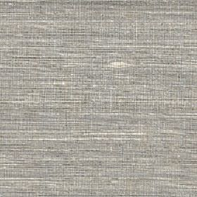 Pacific - Metal - 100% silk fabric made with a horizontal streaky pattern in light shades of cream and grey