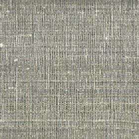 Pacific - Fog - A patchy, streaky design made in mid-grey and off-white colours on 100% silk fabric