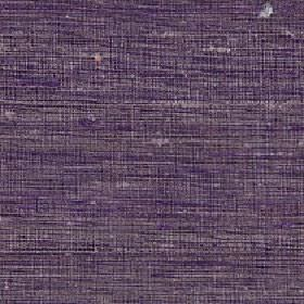 Pacific - Prune - Slightly streaky 100% silk fabric featuring a horizontal design in dark shades of purple and grey