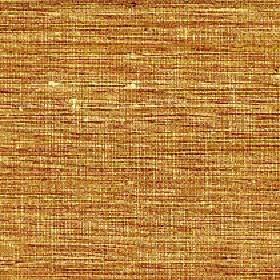 Pacific - Camel - Dusky red, mustard yellow and cream coloured streaks making a patchy design on fabric made entirely from silk