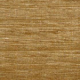 Pacific - Amber - Streaky fabric made from 100% silk with a horizontal golden brown, cream and light grey design