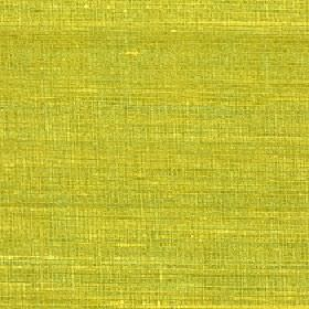 Pacific - Lime - Very bright citrus green coloured fabric made entirely from silk with a few lime and yellow coloured streaks and patches