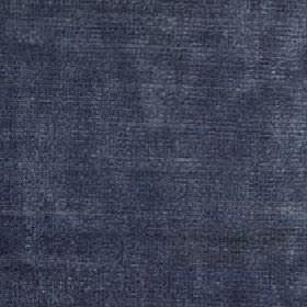 Luxor - Ash - Subtle light grey coloured patches printed on midnight blue coloured fabric made from viscose and cotton