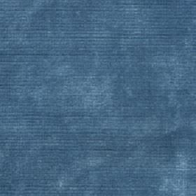 Luxor - Ocean - Denim blue coloured viscose and cotton fabric featuring a pale, slightly patchy effect in light grey