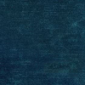Luxor - Teal - Patchily coloured fabric blended from viscose and linen in dark shades of marine blue
