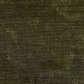Luxor - Dark Olive - Slightly patchily coloured viscose and cotton blend fabric finished in several shades of dark forest green