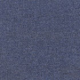 Lindsey - Blue Graphite - Very slightly speckled fabric made from 80% merino wool and 20% nylon in denim blue