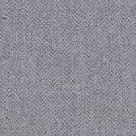 Kentwell - Silver Cloud - Several very similar shades of grey creating a simple, subtle herringbone pattern on merino wool and nylon blend f