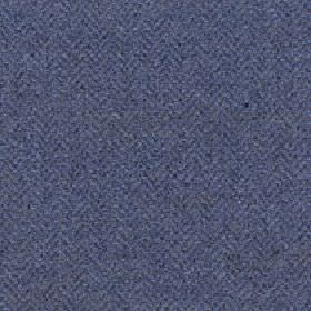 Kentwell - Blue Graphite - Fabric made from merino wool and nylon with a very subtle herringbone pattern in ink blue and a similar shade of