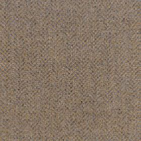 Kentwell - Ochre - Golden brown and grey-beige colours making up a very subtle herringbone pattern on merino wool and nylon blend fabric