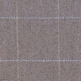 Kersey - Putty - A simple grid made in pale grey and beige shades on a speckled grey-beige merino wool and nylon blend fabric background