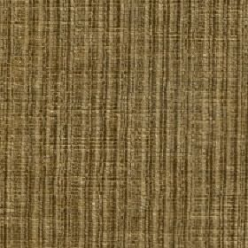 Mercardo - Champagne - Vertically striped cotton and viscose blend fabric made with a subtle patchy finish in several shades of olive green