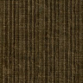 Mercardo - Sage - Vertical stripes and a patchy finish patterning cotton and viscose blend fabric in dark shades of khaki green-brown