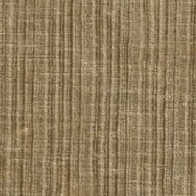 Mercardo - Hessian - Fabric made from vertically striped and slightly patchy cotton and viscose in light and dark creamy brown shades