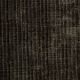 Mercardo - Grey - Cotton and viscose blend fabric featuring an uneven, patchy vertical stripe design in black and dark shades of grey