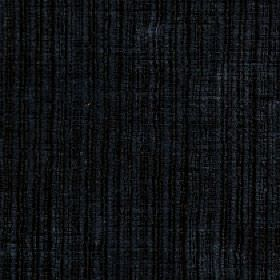 Mercardo - Navy - Cotton and viscose blend fabric made with vertical stripes and a patchily coloured finish in black and very dark blue
