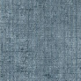 Mercardo - Denim - Several different shades of grey-blue making up an uneven, patchy vertical stripe design on cotton and viscose fabric