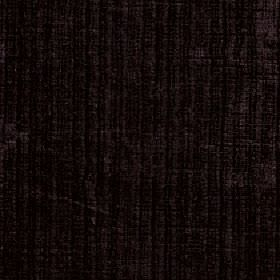 Mercardo - Aubergine - Fabric made from cotton and viscose in very dark shades of purple-grey and black, with uneven, patchy vertical stripe