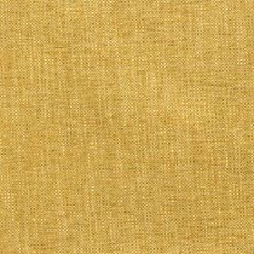 Delano - Gold - Very slightly streaky mustard yellow coloured fabric made from a blend of polyester, cotton, viscose and linen