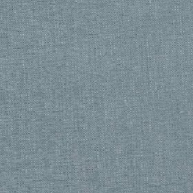 Delano - Mineral Blue - Unpatterned fabric blended from polyester, cotton, viscose and linen in a colour that's a mixture of blue and grey