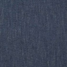 Delano - Bluestone - Fabric made from polyester, cotton, viscose and linen in a dark shade of denim blue featuring a few subtle white streak