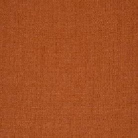 Belvedere - Tigerlilly - Plain fabric made from burnt orange coloured 100% polyester