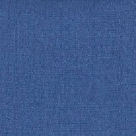 Belvedere - Indigo - Bright Royal blue coloured fabric made from unpatterned 100% polyester