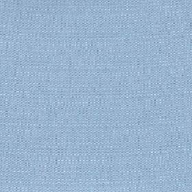 Belvedere - Mineral Blue - Baby blue coloured 100% polyester fabric featuring a few very subtle white threads