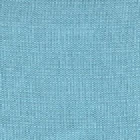 Belvedere - Topaz  - A few pale threads running through bright sky blue coloured 100% polyester fabric