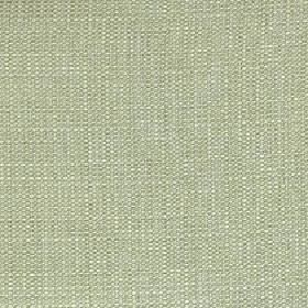 Belvedere - Tarragon - Pale green and white coloured 100% polyester threads woven together into a fabric with no other pattern
