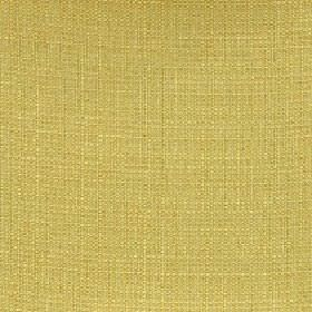 Belvedere - Palm - Plain mustard yellow coloured fabric made entirely from polyester