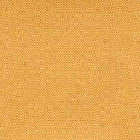 Belvedere - Amber - Clementine coloured 100% polyester fabric made with no pattern